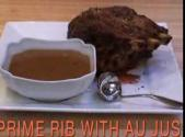 Prime Rib Roast With Au Jus